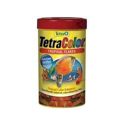 Tetra Color Alimento Peces Escamas Suplemento D Tropical Flakes