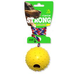Cancat Juguete Para Mascota Bola Con Campana y Soga Nylon ER055