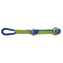 K9 Pelota Fitness Pelota Doble Con Nylon Twist Tug