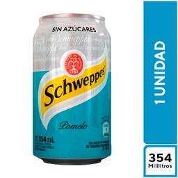 Schweppes Pomelo Sin Azúcar 354 ml