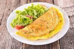 Omelete de Champiñones y Queso