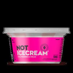 Not IceCream Strawberries 120 Gr