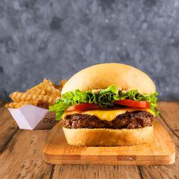 Combo Dean Burger Simple & Papas