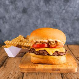 Combo Sweet Burger Simple & Papas
