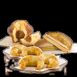 Muffin DDL + Tostado de J&Q + 4 Facturas