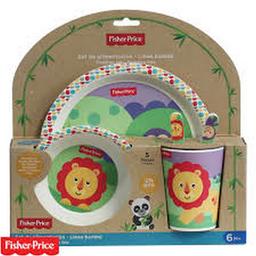 Fisher Price Kit Alimentación Bamboo León