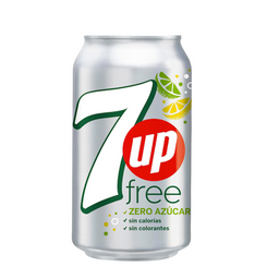 7Up Lima Limón Sin Azúcar 354 ML