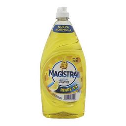 Magistral Lavavajillas Multiuso Limón