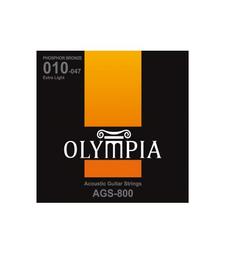 OLYMPIA Cuerdas Guitarra Acustica Olympia 010-047 Phosphor