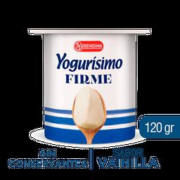 Yogur Entero Yogurisimo Vainilla Firme