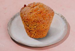 Muffin Vegan Spicy Carrot