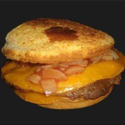 Cheeseburger sin TAA