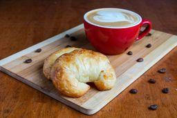 Café más Dos Medialunas