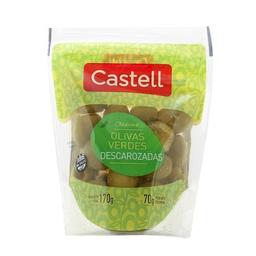 Castell Aceitunas Verdes Descarozadas