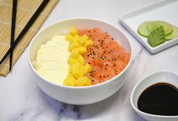 Salad Salmón, Mango y Phila