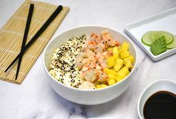 Salad Langostinos, Mango y Phila
