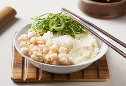 Salad Langostinos, Pepino y Phila