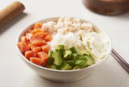 Salad Salmón, Langostino, Palta y Phila