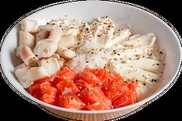 Salad Salmón, Pulpo y Phila