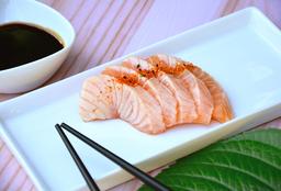 Sashimi Salmón Spicy x5
