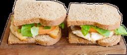 Sándwich de Pollo, Rúcula y Tomate