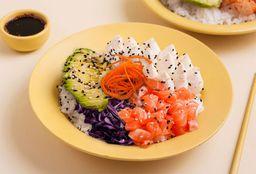 Poke Salad Salmón