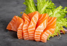 Sashimi de Salmón Rosado X 5