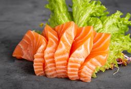 Sashimi de Salmón Rosado