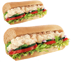 2 Subs Pollo Cream Cheese 15 cm