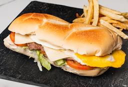 Sándwich de Lomo Clásico