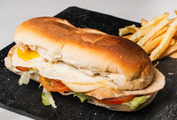 Sándwich de Lomo de Pollo