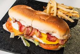 Sándwich de Lomo Bacon