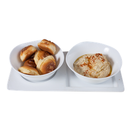 Panera con Hummus