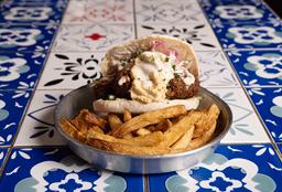 Sándwich de Falafel & Papas