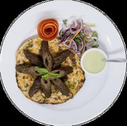 Seekh Kebab de Cordero & Naan