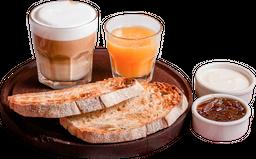 Tostadas + Café + Jugo