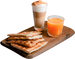 Tostado de J&Q + Café + Jugo