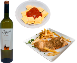 2 Platos Calientes + Vino Cafayate