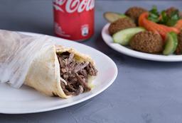 Combo 2 Shawarmas & Falafel Plato 6u+2g