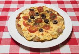 Pizza de Mozzarella y Tomate