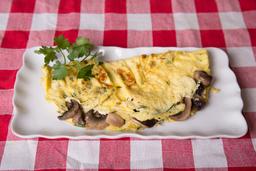 Omelette Vegetariano de Champignones