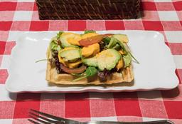 Waffle Vegano Saludable