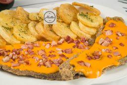 Milanesa de Cheddar & Panceta