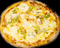 Pizza Puerro y Queso Azul