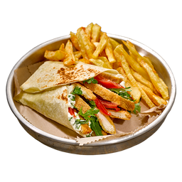 Mila Burrito Rúcula y Tomate