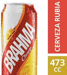 Cerveza Rubia Brahma Chopp 473 mL