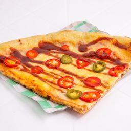 Mega Slice Pizza New York Hot