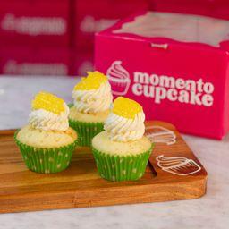 Mini Cupcake de Limón X 3
