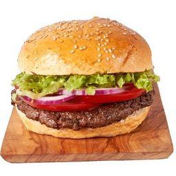 Classic Burger con Papas Rústicas
