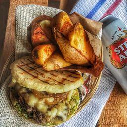 Combo Arepa Burger
